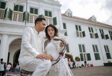 Prewedding of Via and Agung by Nika di Bali