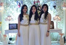 Wedding Adam Albert & Imelda 14-Mar-15 by STILETTO PAGAR AYU