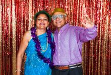 Vikas Birthday Photobooth at Aura National Gallery Singapore by The Explosive Booth