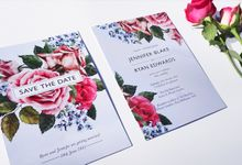 Vintage Rose Stationery by Short & Sweet