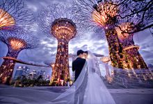 Singapore Pre Wedding by TheLittleBrush Makeup