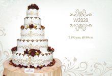 Wedding Cake B by Libra Cake