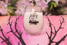 Cherry Blossoms with Aromabeads Wedding Decor or Centerpiece by WeddingCandles.com