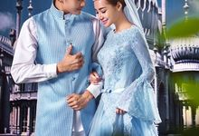 Muslimah Wedding Gown Set by CY Collections Enterprise