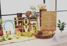 A Rustic Whimsical by Wedding Diary: Penning Your Love Story