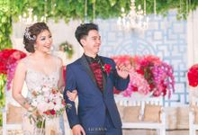 MAYA & GATOT WEDDING by GODIVA