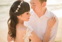 Post Wedding Mr Qu Qing & Ms Liu Jing by Makeup by Heny