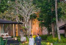 The Wedding of John & Arisha - Khayangan Estate by Varawedding
