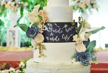Simply Romantic - Wedding Quote by Ivoire Cake Design