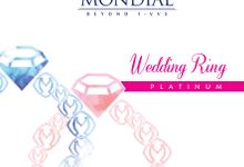 Wedding Ring Platinum by Miss Mondial