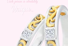 Wedding Ring Unique by Miss Mondial