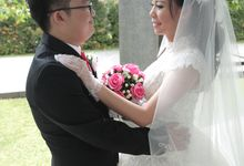 The Wedding of Gilbertus & Indriannie by WS Photography