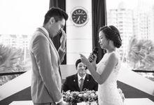 Actual Wedding Day - Wenxun & Jia Wen Evening by A Merry Moment