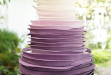 Three-Tier Wedding cakes by Susucre Pte Ltd