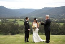 Yarra Valley Weddings by Treasured Ceremonies