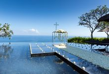 THE BVLGARI WATER WEDDING by Bvlgari Resort Bali