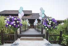 Elegant Luxury Resort Wedding by Wedding Boutique Phuket