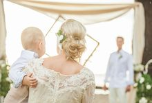 Bo-ho Style Beach Wedding - Kristi & Kristjan by Wedding Boutique Phuket