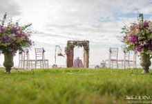 Twilight Beach Wedding - Claire & Brock by Wedding Boutique Phuket