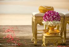 Thai Buddhist Wedding - Alice & Matteo by Wedding Boutique Phuket