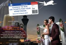 Wedding Contest CHANCE TO WIN AIR TICKETS by Sama-Sama Hotel