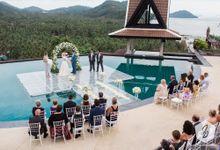Monique & Kris from Australia by Wedding Idea & The Event Thailand