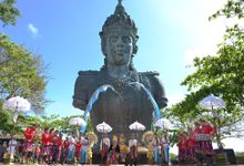 Wedding Ceremony by Garuda Wisnu Kencana Cultural Park