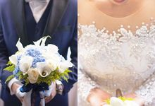 Wedding Bouquet by d'eufloria