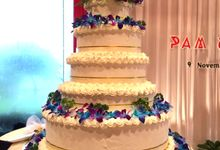 Wedding Cake by Shangri-La's Tanjung Aru Resort & Spa