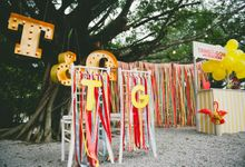 Carnival themed wedding by bliss & glitz