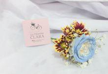 Wedding Corsage by La Fleuriste Clara