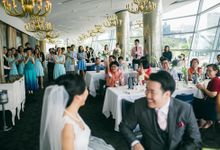 Jing Jie & Chew Yan by Forlino Dining on the Bay