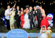 The Wedding of Dede and Ivonne by Happy Moment Photobooth