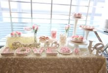 Wedding Dessert Table by Cakeinspiration  LPP
