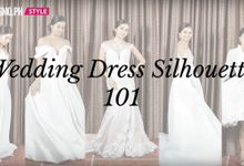 CosmoPH Shoot - The Perfect Wedding Dress For Your Body by Paoie Minerales Hair & Makeup