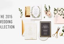 Oscar de la Renta wedding invitation by Paperless Post