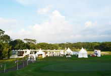 Outdoor Wedding at Modern Golf Course & Country Club by Modern Golf & Country Club