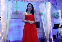 Wedding of Andrew & Shirley by Bi-lingual Female Emcee Sharlyn Lim