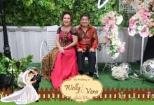 The Wedding of Welly & Vera by Cinnamon Photocorner