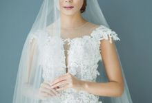 Wedding Gown by Eva Bridal & Make Up