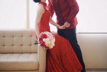 Red Wedding by Melisa Sigit