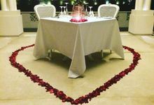 Romantic Candlelite dinner and Honeymoon with Colonial Atmosfer by Rumah Luwih Beach Resort
