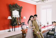 PRE WEDDING PHOTOSHOOT WITH COLONIAL SETTING by Rumah Luwih Beach Resort