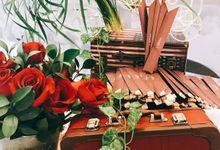 Church Wedding - London Brit Glamour Theme by LAVISH DINE CATERING PTE LTD