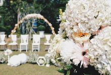 Intimate Wedding of Edwin & Nila by Fiori.Co