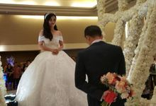 The Wedding of Efan & Agnes by Finest Organizer
