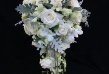 Wedding Bouquet by Rosée Florist