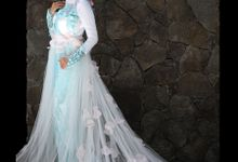 sakura weddingdress by Wedding Dress Muslimah Designer