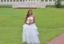 Outdoor Wedding Photoshoot Local by L'umiére Weddings Singapore