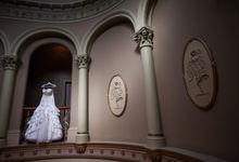 Wedding ceremony by The Wedding Barn Gallery